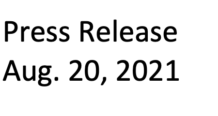 BITRUSH CORP. ANNOUNCES RESULTS OF ANNUAL GENERAL AND SPECIAL MEETING OF SHAREHOLDERS HELD AUGUST 19, 2021.